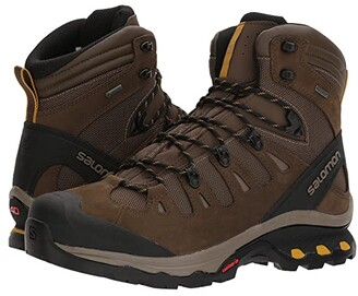 Salomon Quest 4D 3 GTX (Grape Leaf/Peat/Burnt Olive) Men's Shoes
