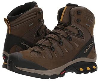 Salomon Quest 4D 3 GTX(r) (Grape Leaf/Peat/Burnt Olive) Men's Shoes