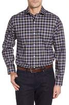 Tailorbyrd Men's Calhoun Regular Fit Check Sport Shirt