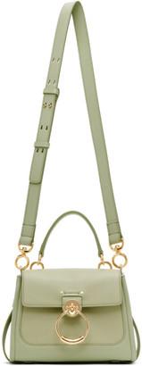 Chloé Green Mini Tess Day Bag