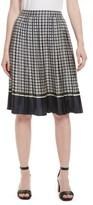 Tory Burch Women's Marea Pleated Silk Skirt