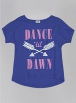 Junk Food Clothing Kids Girls Dance 'til Dawn Tee-reef-l