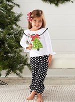 Mud Pie Christmas Tree Tunic and Legging Set, 2T by