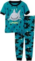 Petit Lem Jawsome! Shark Pajama - 2-Piece Set (Baby Boys)
