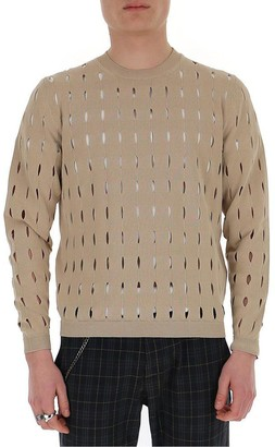 Fendi Perforated Sweater