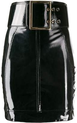 Elisabetta Franchi belted mini skirt