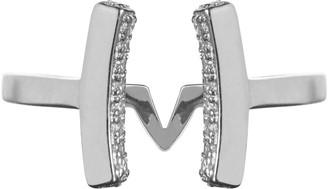 Vamp London Attitude Sterling Silver Cuff Ring - Size Q ATR035-SI-C-SIZEQ