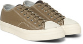 Visvim - Skagway Cotton-canvas And Leather Sneakers