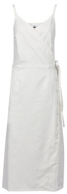 Dorothy Perkins Womens **Tall White Denim Camisole Cotton Dress, White