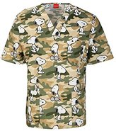 Cherokee Men's Camo Hound Scrub Top