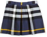 Burberry Kittie Check Skirt, Size 4-14