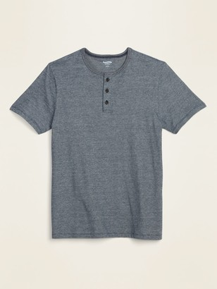 Old Navy Soft-Washed Micro-Stripe Henley Tee for Men