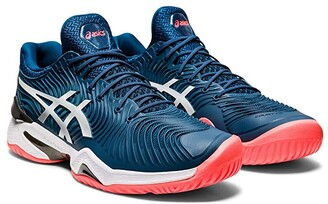Asics Court FF 2 (Mako Blue/White) Men's Volleyball Shoes