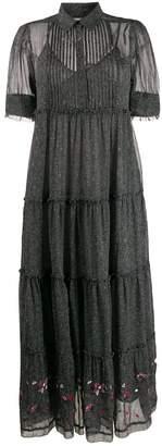 Zadig & Voltaire Zadig&Voltaire Rapidel print tiered dress