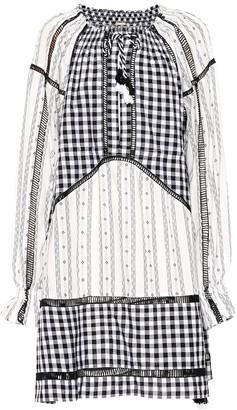 Dodo Bar Or Embroidered cotton midi dress