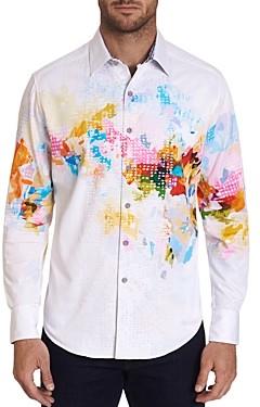 Robert Graham High Octane Classic Fit Button-Down Shirt