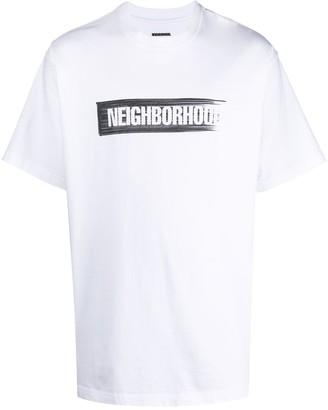 Neighborhood logo-print T-shirt