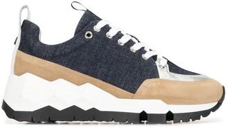 Pierre Hardy Street Life denim sneakers