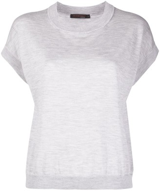 Incentive! Cashmere Cashmere Short-Sleeved Top