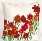 "Poppies 20"" Square Outdoor Pillow"
