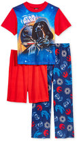 Star Wars 3-Pc. Pajama Set, Little Boys (2-7) & Big Boys (8-20)