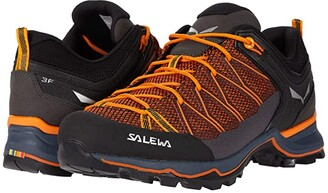 Salewa Mountain Trainer Lite (Ombre Blue/Carrot) Men's Shoes