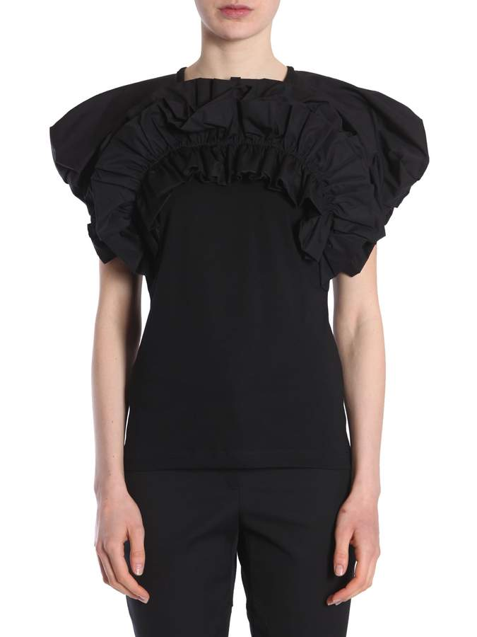 Alexander McQueen T-shirt With Balloon Sleeves