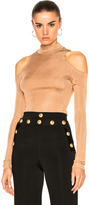 Balmain Open Shoulder Top