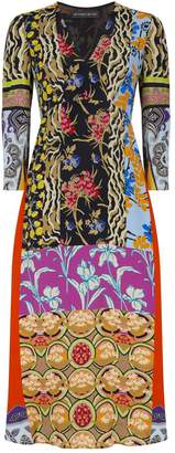 Etro Patchwork Suffolk Dress