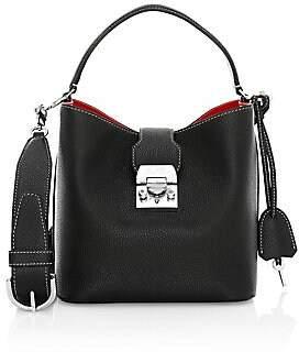 Mark Cross Women's Mini Murphy Leather Bucket Bag
