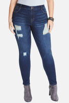 Fashion to Figure Mykonos Distressed Skinny Jeans