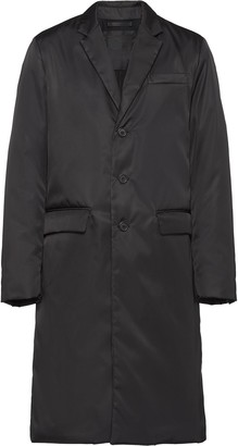 Prada Single-Breasted Mid-Length Coat