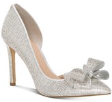 INC International Concepts Inc Women's Karee Bling Bow d'Orsay Pumps, Created For Macy's Women's Shoes