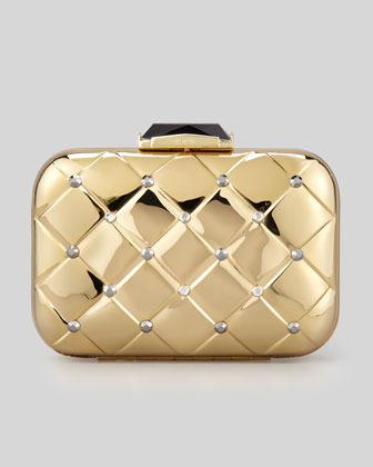 Kotur Morley Crystal Clutch Bag, Gold