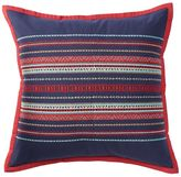 Chaps Eastport Embroidered Throw Pillow