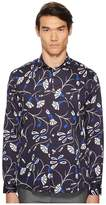 Etro Abstract Blossom Button Down Shirt Men's Long Sleeve Button Up