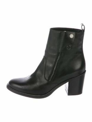 Belstaff Leather Boots Black
