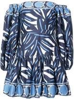 Alexis off-shoulder printed dress