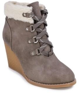 Nautica Galva Wedge Boots Women's Shoes