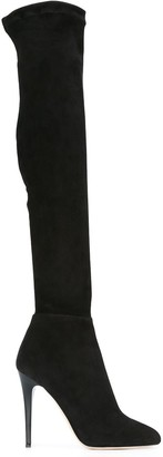 Jimmy Choo Turner 110 thigh high boots