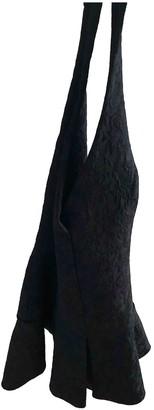Mangano Black Cotton Dress for Women