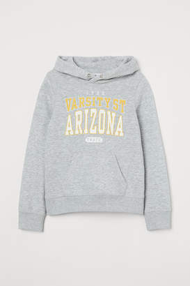 H&M Printed Sweatshirt Hoodie