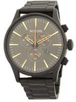 Nixon Sentry Chrono Stainless Steel Bracelet Watch