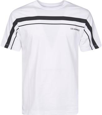 Les Hommes Horizontal Line T-shirt