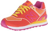 New Balance Women's WL574 Woven Collection Running Shoe