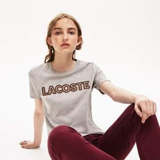 Lacoste Women's Crewneck Lightweight Cotton T-shirt