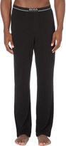 HUGO BOSS Branded stretch-cotton pyjama trousers