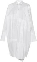 Loewe Patchwork-panel oversized shirtdress