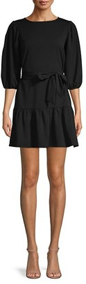 Love...Ady Puffed-Sleeve Mini Dress