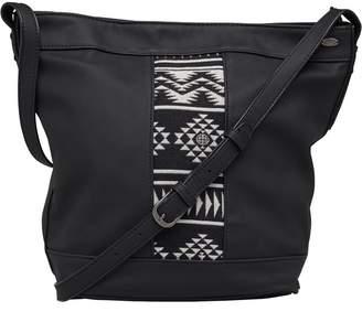 Animal Womens Drew Cross Body Bag Black